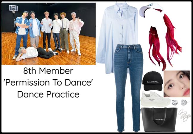 8th Member of BTS Dance Practice