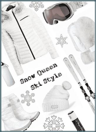Snow Queen Ski Style