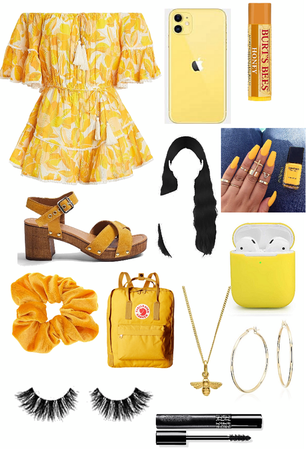 Color as people: Yellow