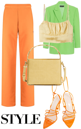 Mango themed outfit