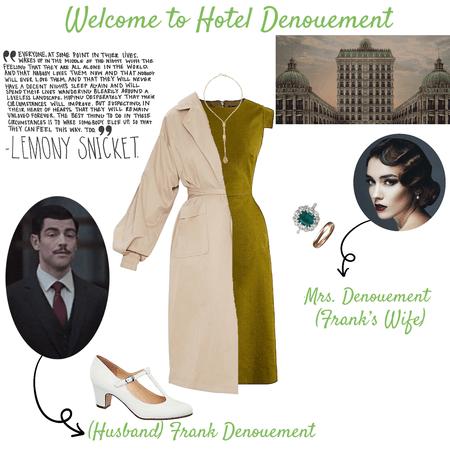Frank Denouement's Wife - Asoue OC