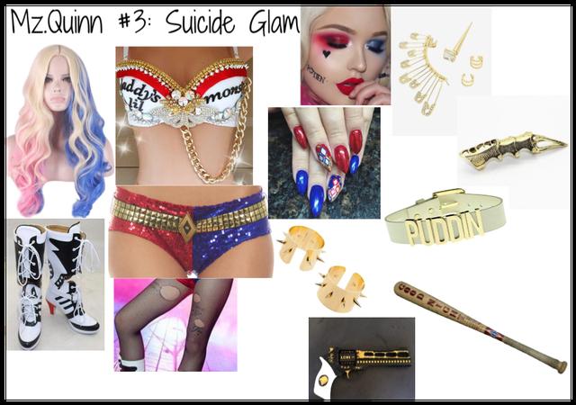 Mz. Quinn #3: Suicide Glam