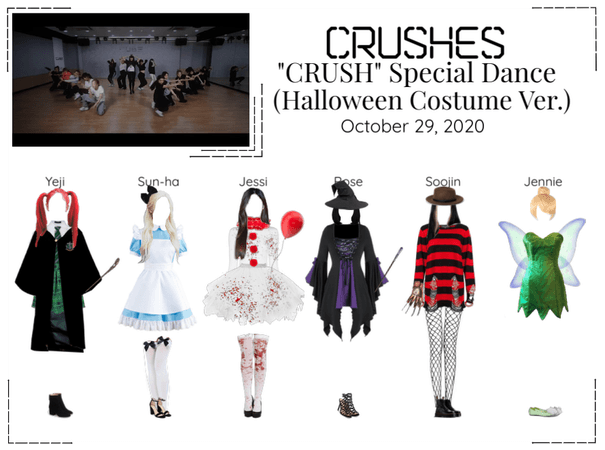 "Crushes (호감) ""Crush"" [Halloween ver Special Dance]"