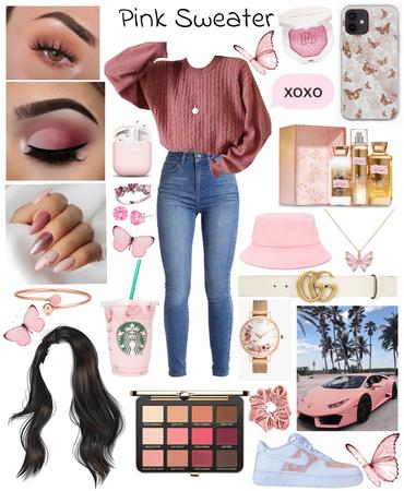 pink sweater 💗