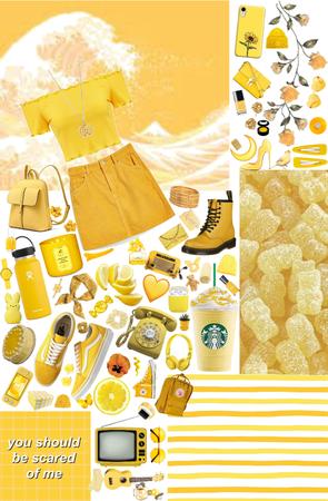 {yellow} {moodboard}