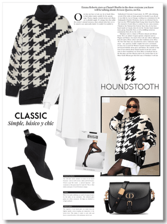 Fashionable Houndstooth