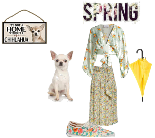 spring floral outfit for @cgoehring78