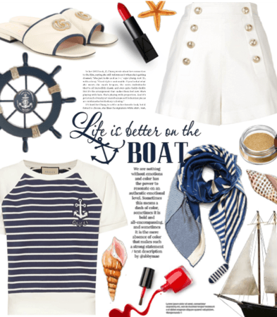 Nautical and Stripes
