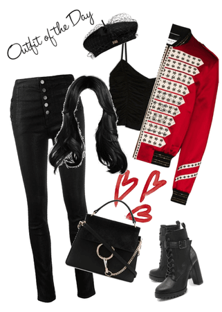 Kpop inspired outfit.