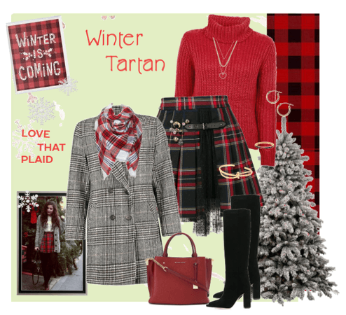 Winter Tartan Styling