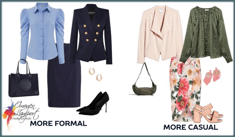 Formal vs Casual