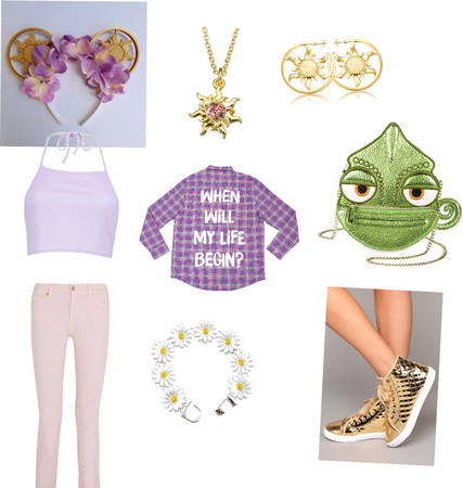 Go to Disneyland as your fave Disney character :Rapunzel