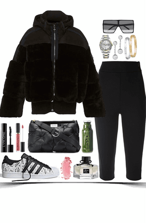 sport,comfortable,cool black look