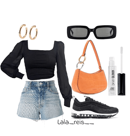 Black Everyday Outfit
