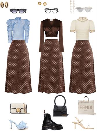 one skirt | three looks