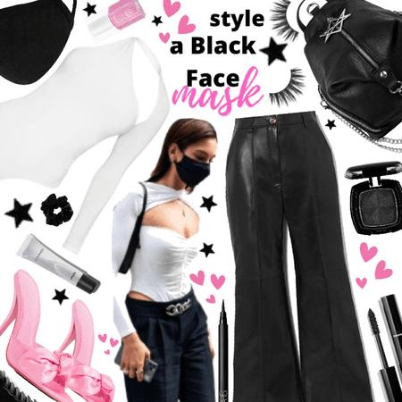 Style a black mask