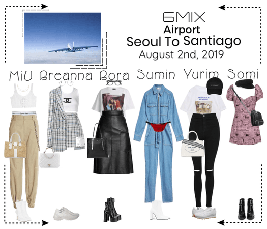 《6mix》Airport | Seoul To Santiago