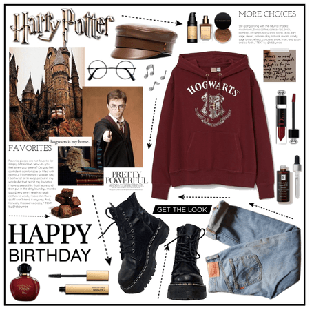 An outfit to celebrate Harry Potter's Birthday!