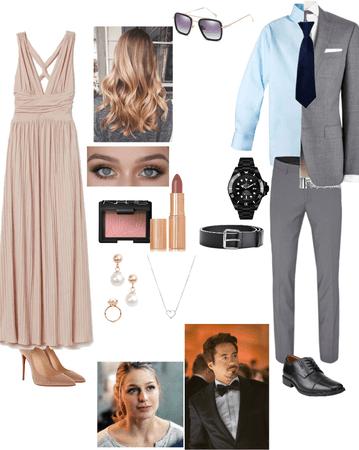 Katherine Potts and Tony Stark — Friends Wedding