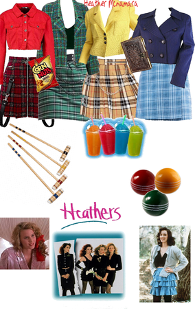 Heathers ( Group Movie Costume )