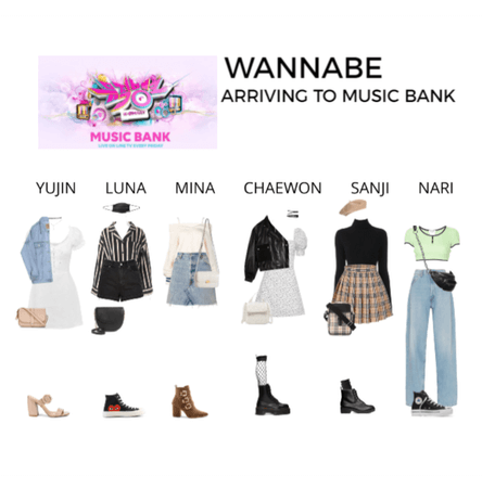 WANNABE | Arriving to Music Bank