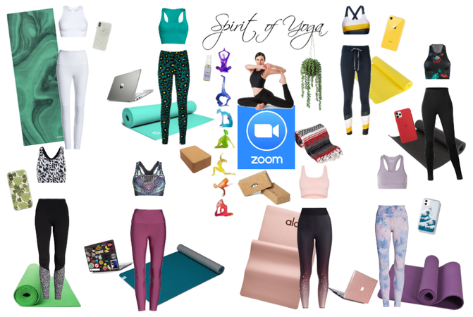 Yoga class via ZOOM