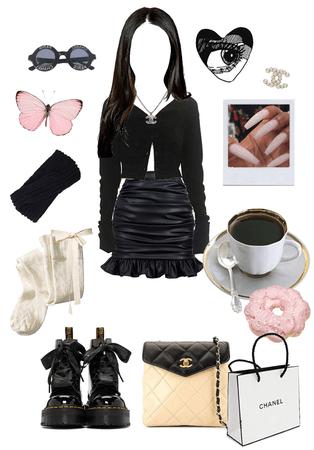 girly black