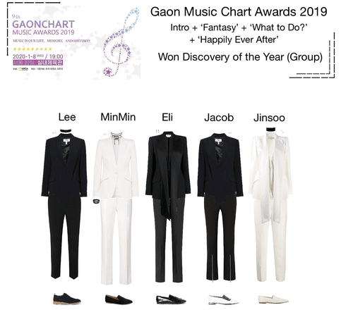 Zus//Gaon Music Chart Awards 2019