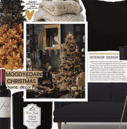 Moody&Dark Christmas Decor