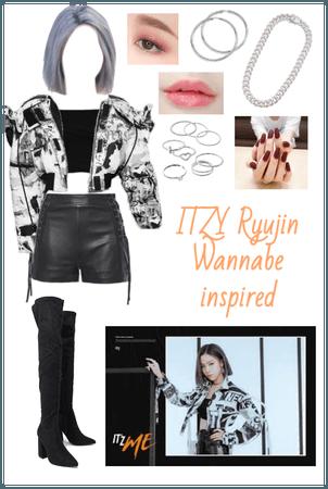 ITZY Ryujin Wannabe inspired