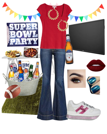 Superbowl Party Style