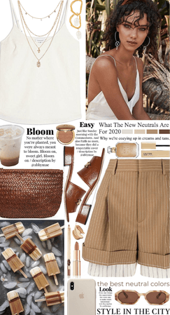 Summer Neutrals: Ice Coffee