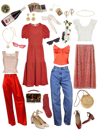 dream look #2: red