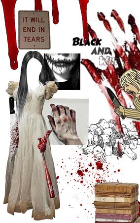 scary costume (VINTAGE KILLER!!)