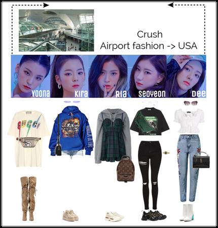 Airport fashion -> USA