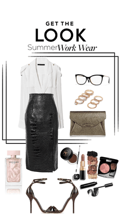 leather skirt is everything