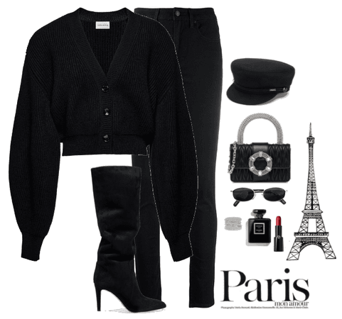 Walking in paris.