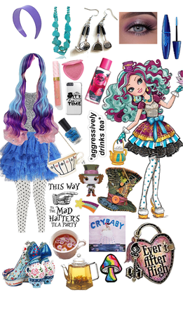 madeline hatter; daughter of the mad hatter