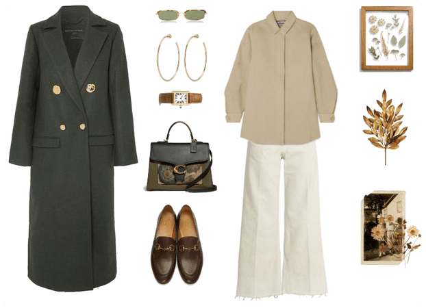 green * brown style
