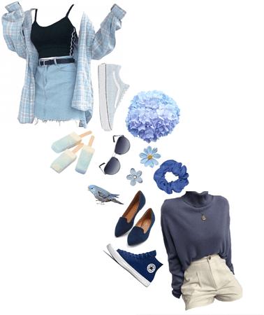Blue Summer Friends