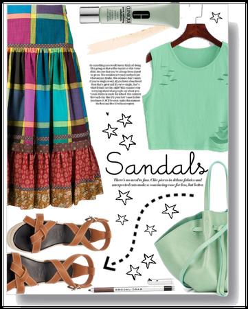 Summer sandals style