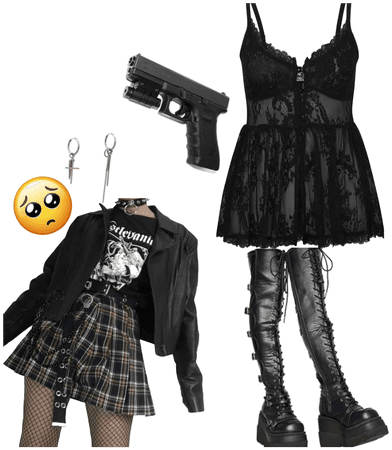 My outfit look like this rk