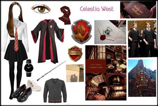 Celestia hogwarts outfit