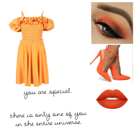 Orange themed
