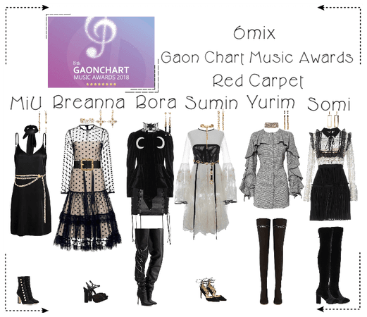 《6mix》Gaon Chart Music Awards Red Carpet