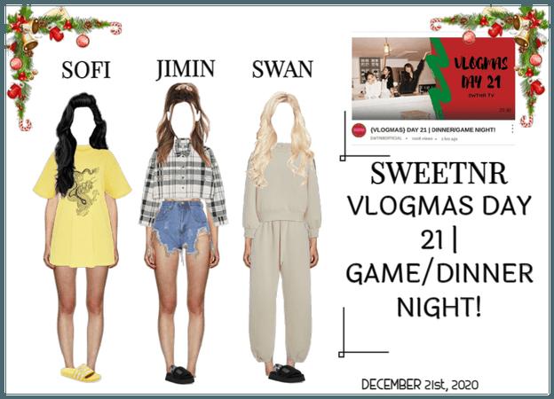 {VLOGMAS} DAY 21   DINNER/GAME NIGHT