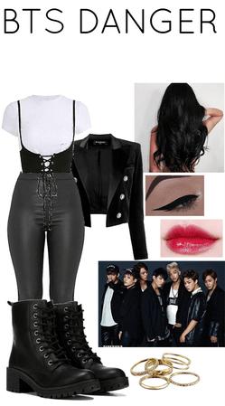 BTS DANGER Outfit 2