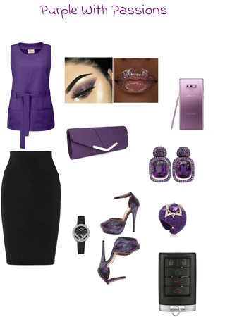 Purple With Passions