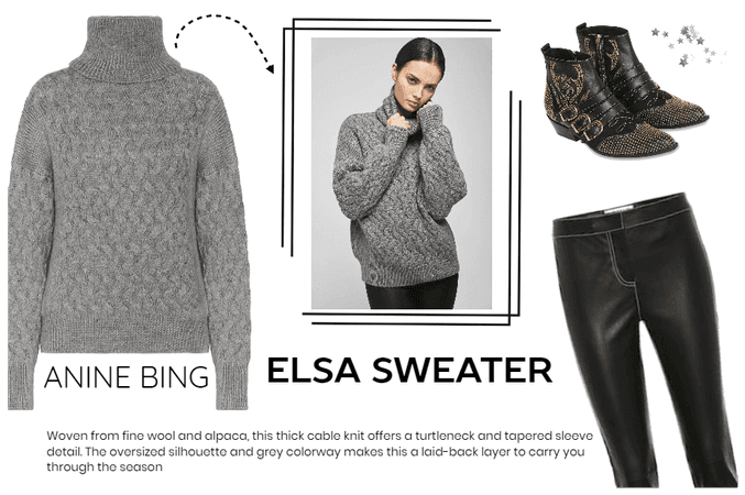 ELSA SWEATER - ANINE BING