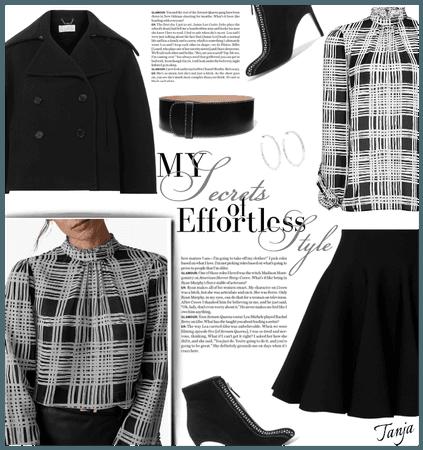Black,black,studded...